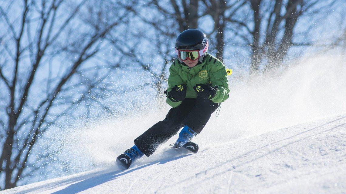 Voor het eerst op wintersport